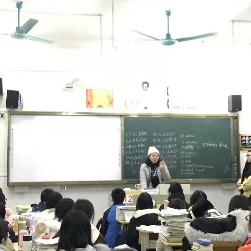兴安中学19届毕业生回母校开展宣讲活动