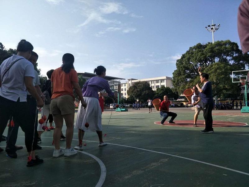 教师节,我们老师自己的节日——兴安中学开展庆祝第三十六个教师节趣味活动